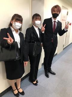 【高松】卒業生が来てくれました(^_-)-☆