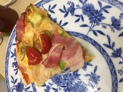 【高崎】生徒がピザを作ってくれました