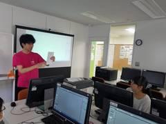 【秋葉原】デジタルイラストの体験授業やりました✿