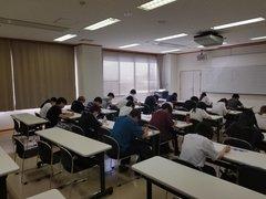 【魚沼】前期試験奮闘いたしました!