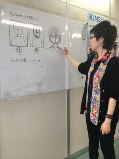 マンガ・イラスト ターゲットプラスコース 授業の様子①
