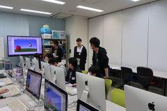 【横浜】ゲームカレッジ★入学前体験授業の様子