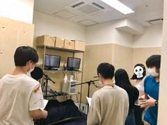 【横浜】声優体験授業の様子