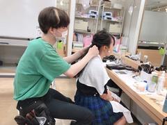 【横浜】ブライダルヘアメイクの施術★