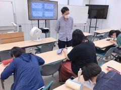 【横浜】イラスト体験授業の様子