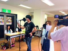 またまたテレビ取材!熊本学習センター!