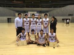 おめでとう!全国大会3位!!!横浜学習センターバスケットボール同好会☆