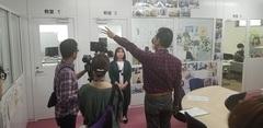 新潟学習センターがテレビ取材を受けました!
