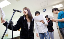 声優・タレントコース体験授業