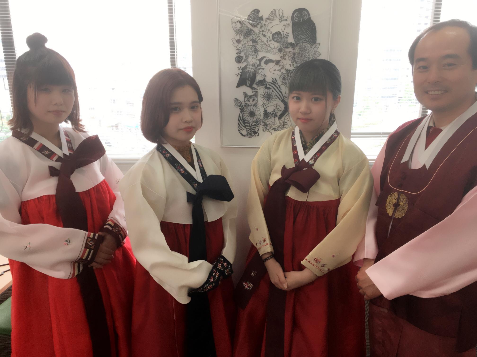 【中3生対象】韓国語コースの学校見学会☆★☆