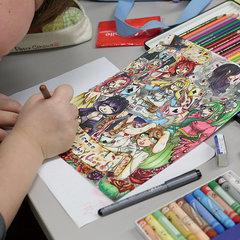 【神戸】絵を描くのが好きな子が集まる通信制高校