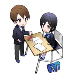 ★新中3生★学校説明会★ゲーム/アニメ/マンガ/イラスト
