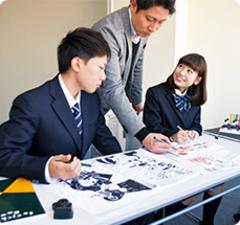 【北九州】マンガイラストを学べる専門高校!