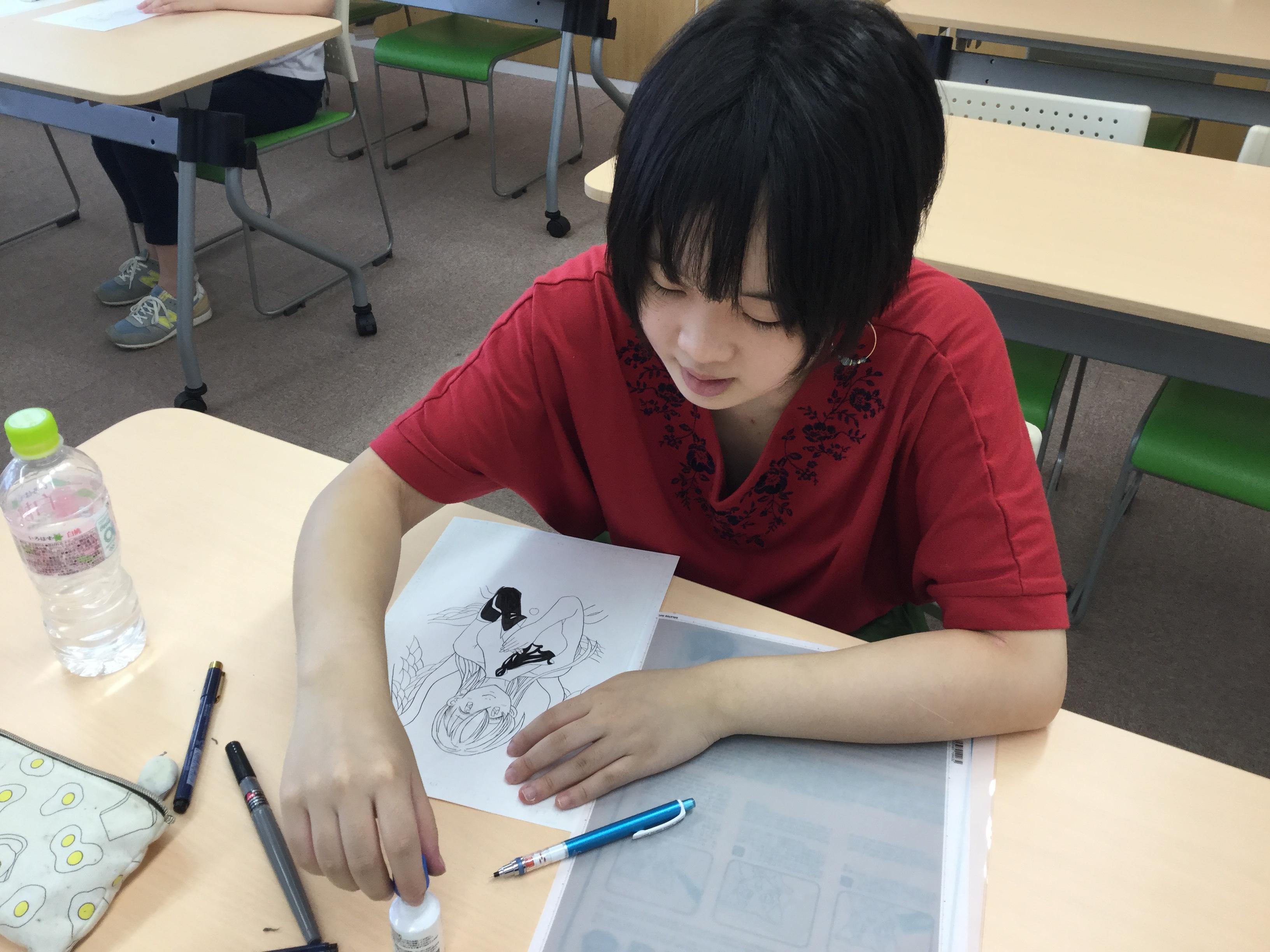 【高知】オープンスクール★マンガ・イラスト★
