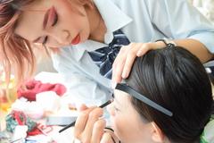 【プロから学ぶ体験授業】☆**メイク・美容コース☆**